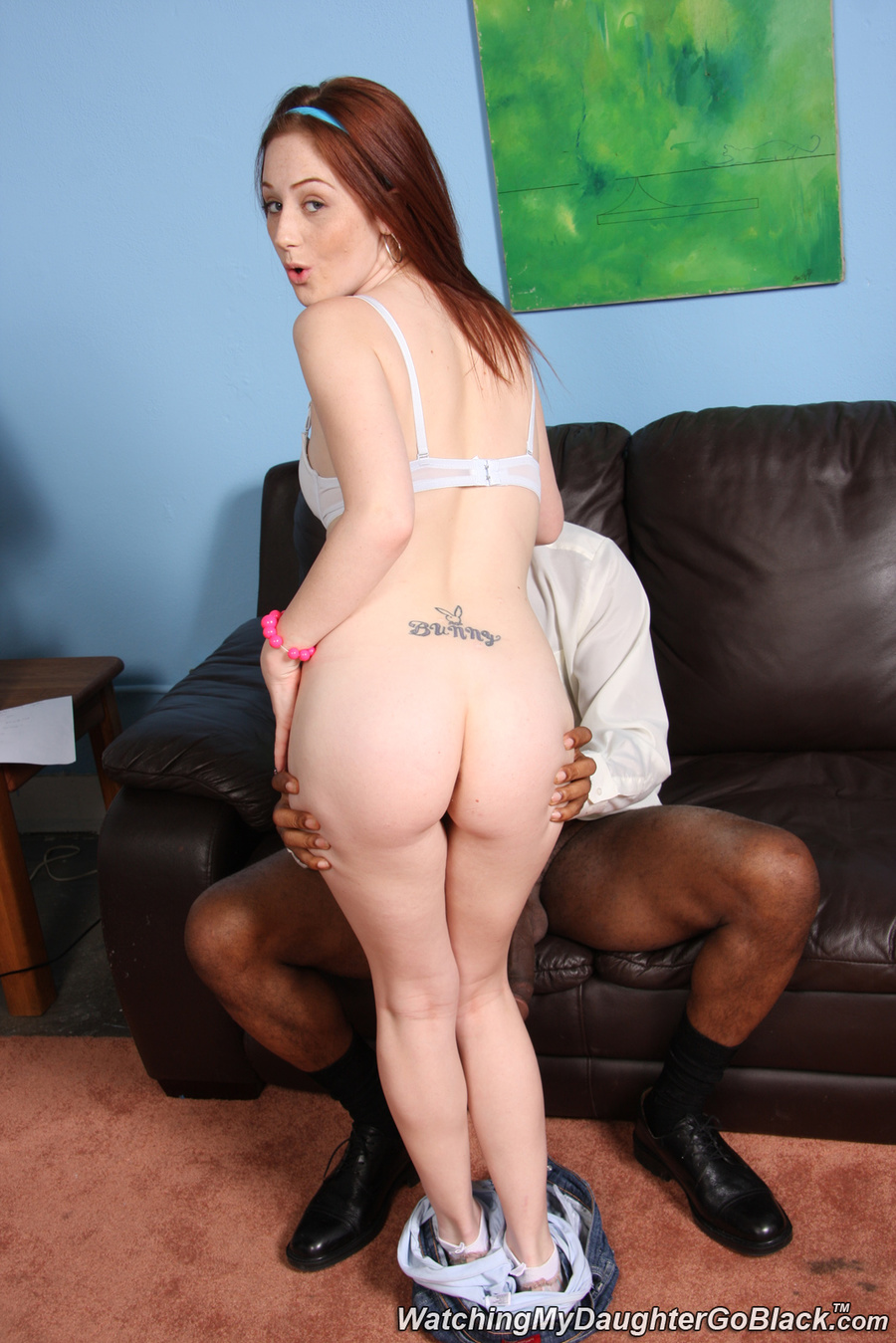 Red head cameron love handjob