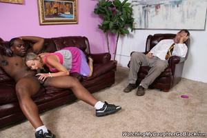 Horny teen meet her black boyfriend with - XXX Dessert - Picture 5