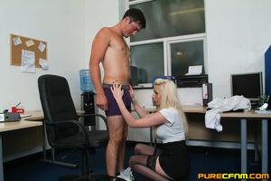 Kinky women played an office man for a h - XXX Dessert - Picture 6