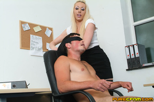 Kinky women played an office man for a h - XXX Dessert - Picture 7
