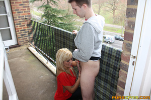 A sexy blond preferred an erotic blowjob - XXX Dessert - Picture 12