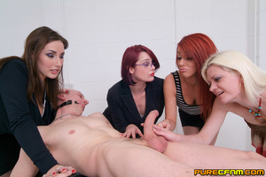 Mean sexy ladies were asked to give a ma - XXX Dessert - Picture 11
