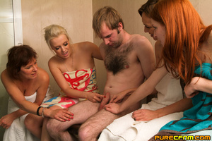 Steamingly hot ladies gave him a steamin - XXX Dessert - Picture 6