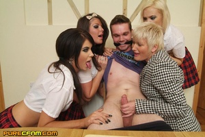 Young lad's hard dick was given an eroti - XXX Dessert - Picture 10