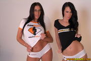 two gorgeous hot ladies