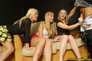 Three sex hungry ladies did a great hand - XXX Dessert - Picture 3