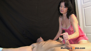 Woman in seductive pink langerie teasing - XXX Dessert - Picture 3