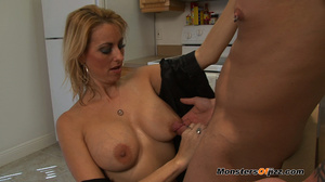 A great cocksucking hot blond lady - XXX Dessert - Picture 1