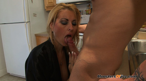 A great cocksucking hot blond lady - XXX Dessert - Picture 2