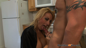 A great cocksucking hot blond lady - XXX Dessert - Picture 5