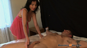 Woman in seductive pink langerie teasing - XXX Dessert - Picture 8