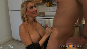 A great cocksucking hot blond lady - XXX Dessert - Picture 15