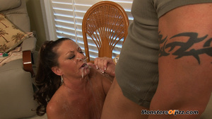 A boobie work caressing a hard cock befo - XXX Dessert - Picture 9