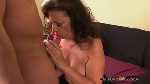 A retard watches big momma do a perfect  - XXX Dessert - Picture 13