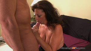 A retard watches big momma do a perfect  - XXX Dessert - Picture 15