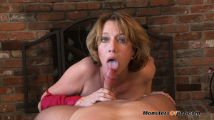 Hot momma seductively sucking a hard dic - XXX Dessert - Picture 8
