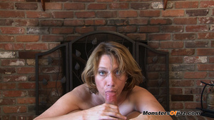 Hot momma seductively sucking a hard dic - XXX Dessert - Picture 13