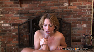 Hot momma seductively sucking a hard dic - XXX Dessert - Picture 14