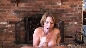 Hot momma seductively sucking a hard dic - XXX Dessert - Picture 15