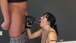 Sweat sweet sporty cocksucking job - XXX Dessert - Picture 15