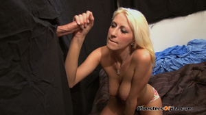 Blondie enjoying a mysterious cocksuckin - XXX Dessert - Picture 10
