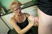 perverted granny receives gigantic