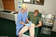 perverted nurse gets surprise