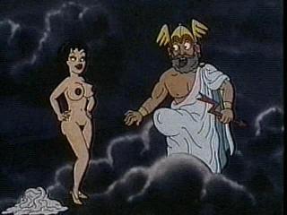 greeks cartoon guy banging