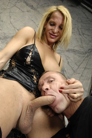 Shemale bitches get ass banged and cock  - XXX Dessert - Picture 8