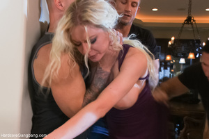 Blonde MILF hogtied and humiliated befor - XXX Dessert - Picture 1
