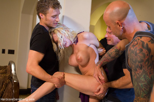 Blonde MILF hogtied and humiliated befor - XXX Dessert - Picture 8