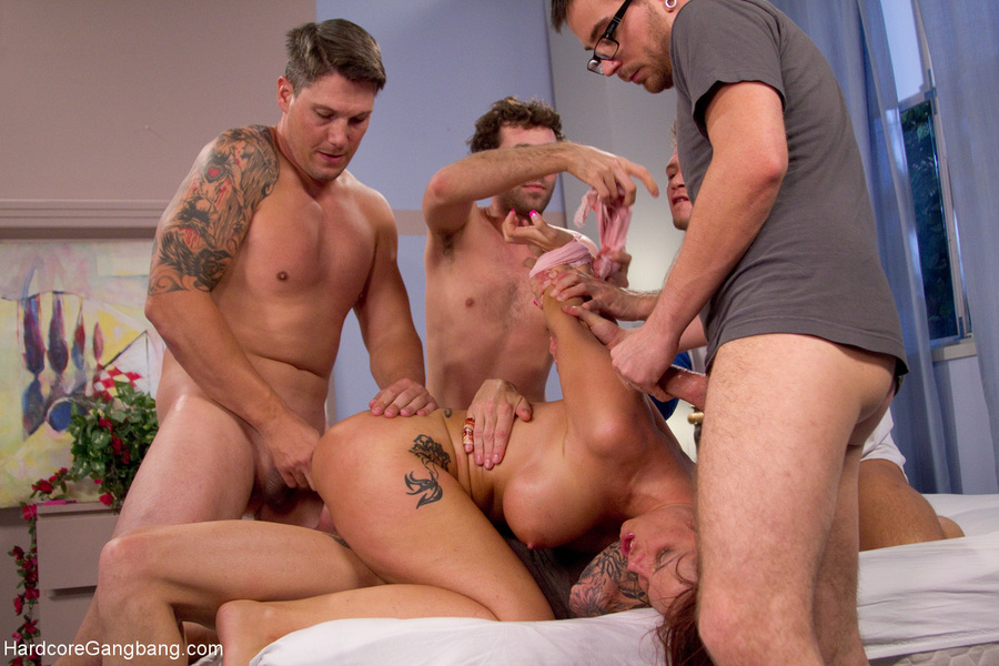 Mom Gangbang Sons Friends