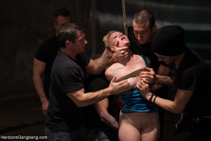 Punk-girl gangbanged badly in the back s - XXX Dessert - Picture 5