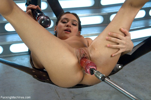 Red chick with plaits two holes penetrat - XXX Dessert - Picture 6