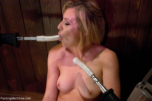 Blonde mom in white panties gets her hol - XXX Dessert - Picture 1