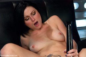 Lustful brunette ass and pussy drilled w - XXX Dessert - Picture 1