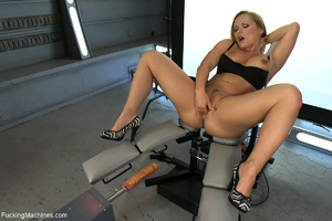 Dirty long-haired bitch fisting her ass  - XXX Dessert - Picture 1