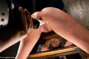 Gag-balled busty brunette pounded badly  - XXX Dessert - Picture 7