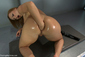 Dirty long-haired bitch fisting her ass  - XXX Dessert - Picture 7
