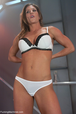 Ponytailed fitness trainer gets all her  - XXX Dessert - Picture 1