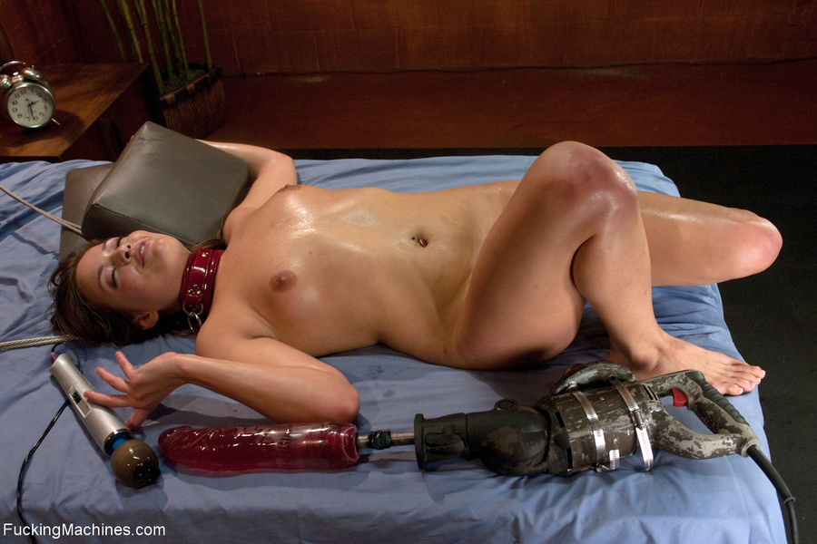 Lustful chick in a red collar pounded with  - XXX Dessert - Picture 3