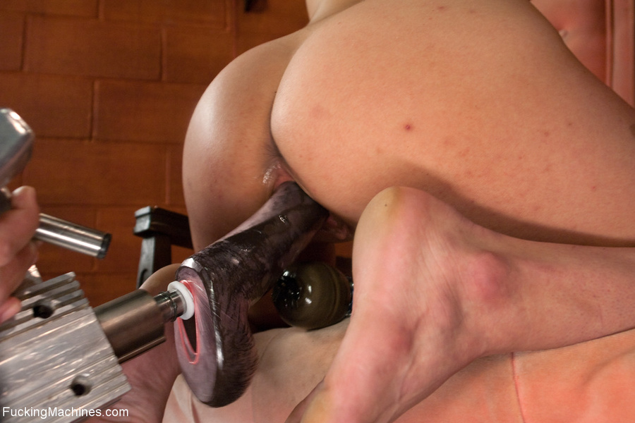 Lustful chick in a red collar pounded with  - XXX Dessert - Picture 4