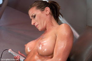 Ponytailed fitness trainer gets all her  - XXX Dessert - Picture 8