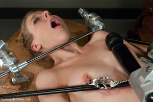 Blonde student enjoys hard drilling with - Picture 2
