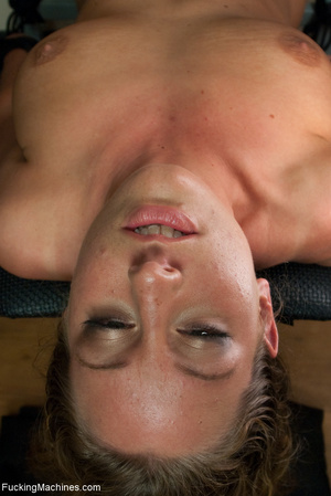 Blonde bitch with roped hands can't stop - XXX Dessert - Picture 7