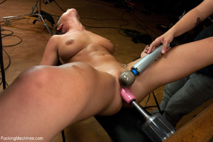 Blonde bitch with roped hands can't stop - XXX Dessert - Picture 8