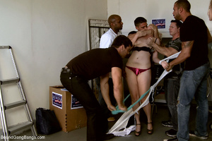 Two blonde office sluts bound and banged - XXX Dessert - Picture 3