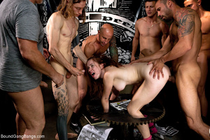Busty red bitch assdrilled badly by grou - XXX Dessert - Picture 7