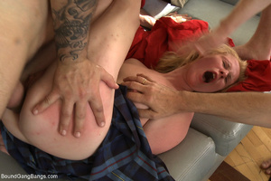 Horny military men jeering and fucking b - XXX Dessert - Picture 4