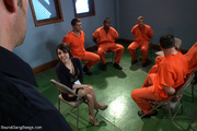 dirty prisoners banging rudely